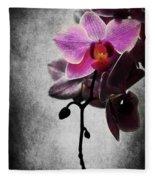 orchid IV Fleece Blanket