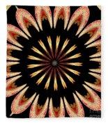 Orchid Kaleidoscope 3 Fleece Blanket