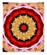 Orchid Kaleidoscope 6 Fleece Blanket