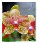 Orchids 35 Fleece Blanket
