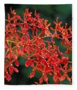 Orchids Fleece Blanket