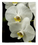 Orchids Kauai Fleece Blanket