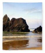 Oregon Coast 10 Fleece Blanket