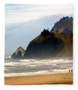 Oregon Coast 12 Fleece Blanket