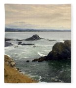Oregon Coast 17 Fleece Blanket