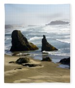 Oregon Coast 19 Fleece Blanket