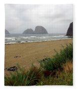 Oregon Coast 2 Fleece Blanket