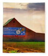 Oregon - Oinion Country Fleece Blanket