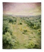 Oregon Trail 2 Fleece Blanket