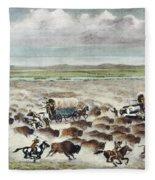 Oregon Trail: Stampede Fleece Blanket