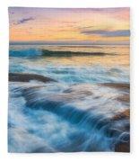 Oregon's Gold Coast Fleece Blanket