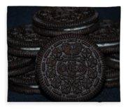 Oreo Cookies Fleece Blanket