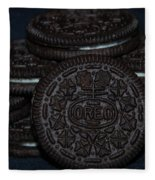 Oreo Cookies Fleece Blanket