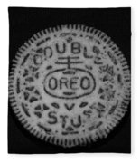 Oreo In Matte Finish Fleece Blanket
