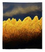 Organ Mountains Land Of Enchantment 1 Fleece Blanket