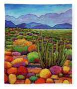 Organ Pipe Fleece Blanket