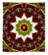 Organic Popart Fleece Blanket