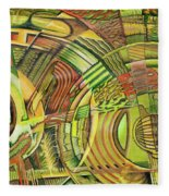 Organical Mechanical Fleece Blanket