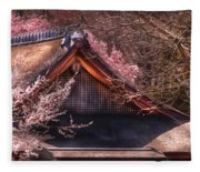 Orient - Shofuso House Fleece Blanket