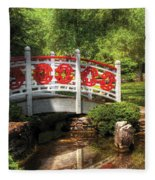 Orient - Bridge - Tranquility Fleece Blanket