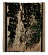 Oriental Falls Fleece Blanket