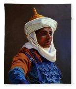 Orientalist 01 Fleece Blanket