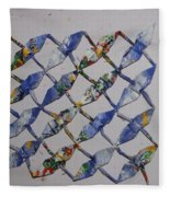Origami Cranes Fleece Blanket