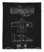 Original 1906 Wright Brothers Full Patent Fleece Blanket