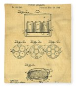 Original Patent For Canning Jars Fleece Blanket