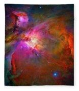 Orion Nebula Fleece Blanket