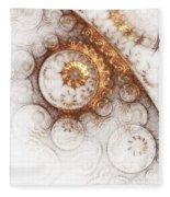 Ornament Fleece Blanket