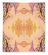 Ornamented Beauty Fleece Blanket