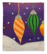 Ornaments Fleece Blanket