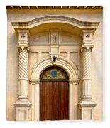 Ornate Entrance Fleece Blanket