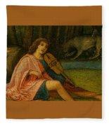 Orpheus Giovanni Bellini Fleece Blanket