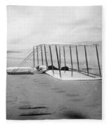 Orville Wright, 1901 Fleece Blanket