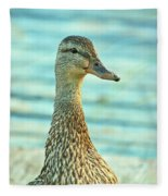 Oscar Le Canard Fleece Blanket