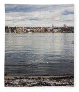 Oslo Waterfront Fleece Blanket