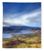 Osoyoos Lake Fleece Blanket