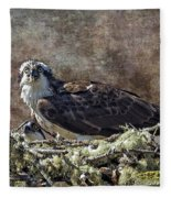Osprey And Young - Feeding Fleece Blanket