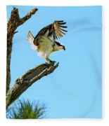Osprey Landing Fleece Blanket