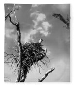 Osprey Nest Fleece Blanket