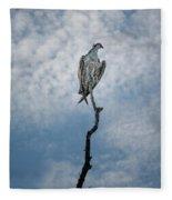 Osprey On Top Of The World Fleece Blanket