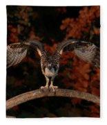 Osprey Ready For Take Off Fleece Blanket