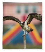 Osprey Salutes The Busch Eagle Fleece Blanket