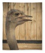 Ostrich Fleece Blanket