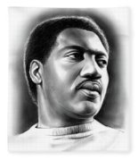 Otis Redding Fleece Blanket