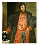 Ottaviano Grimani. Procurator Of San Marco Fleece Blanket