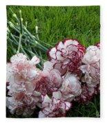 Forgotten Bouquet  Fleece Blanket