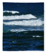 Our Beautiful Ocean Fleece Blanket